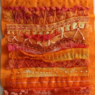 Visions of The Sahara One Original Textile Art