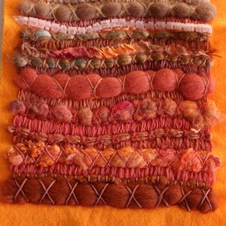 Visions of The Sahara Two Original Textile Art