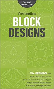 Quilting Book Review - Free-Motion Block Designs
