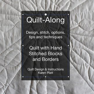 eCourse - Quilt Along Hand Stitch Calico Quilt