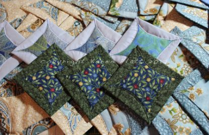 eCourse Japanese Folded Patchwork Hand Quilting Design Tutorial