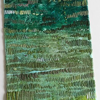 How Green Was My Valley Original Textile Art