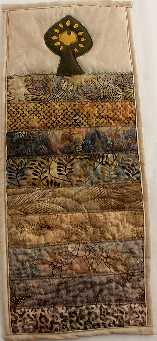 Summer Quilted Wall Hanging Quilt Kit