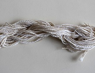 cotton undyed threads