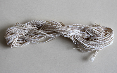 Undyed threads - Natural Cotton for Stitching