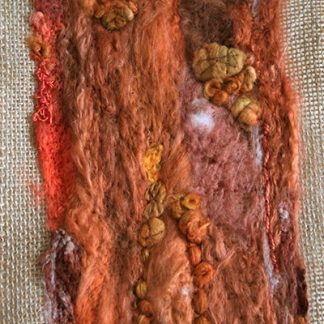 Tree Bark Three Original Textile Art Wall Hanging