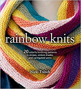 Knitting Book Review Rainbow Knits by Nicki Trench
