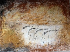 cave painting horses