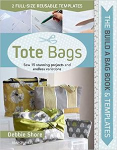 Book Review Tote Bags by Debbie Shore