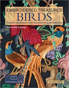 Book Review Embroidered Treasures Birds by Dr Annette Collinge