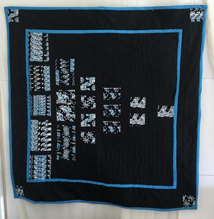 Not So scrappy scrappy quilt Karen Platt