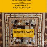 Autumn Leaves quilt tutorial cover