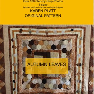 Autumn Leaves quilt pattern