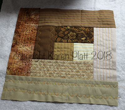 learn quilting Karen Platt