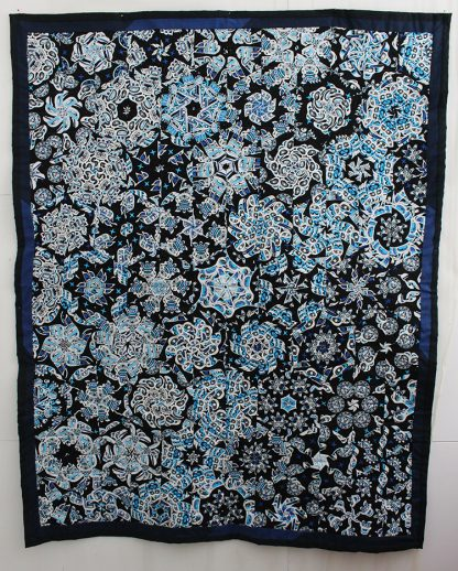 Kaleidoscope One Block Wonder Lap Quilt For Sale