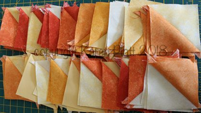 progress quilting Karen Platt