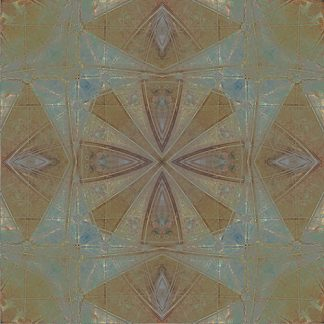 digital kaleidoscope fabric