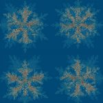 craft snowflake fabric