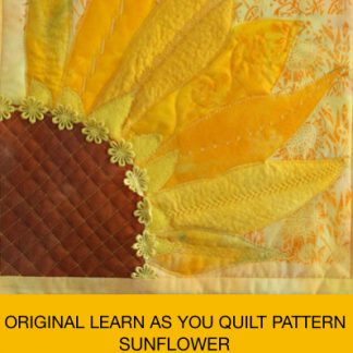 sunflower quilt cover Karen Platt