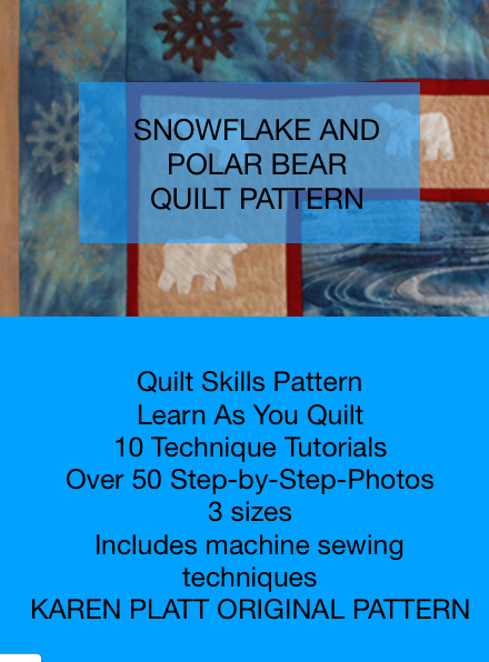 snowflakes quilt patterns Karen Platt