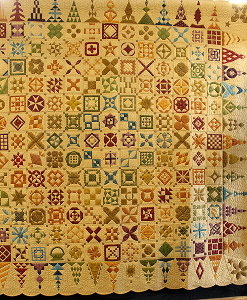 Competition Quilts Dear Jane by Francis Meredith