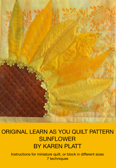 retrospective sunflower quilt