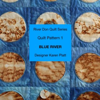 Blue River quilt pattern