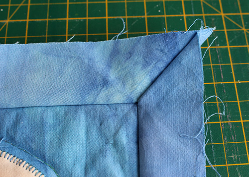 quilting mitred corners