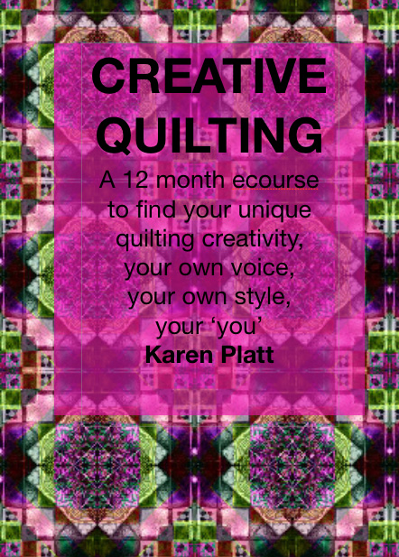creative quilting ecourse