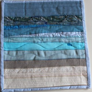 Quilted Sea Wall Hanging
