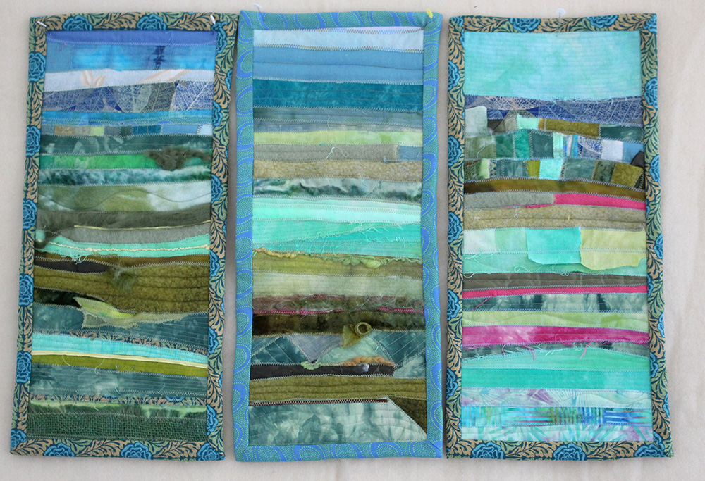 Creating quilts as landscape