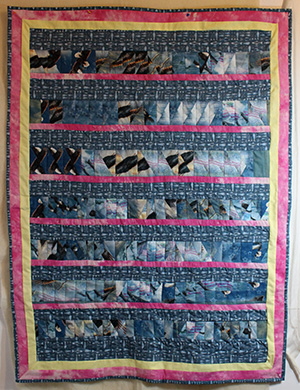 Fish and Eagle Quilt for sale