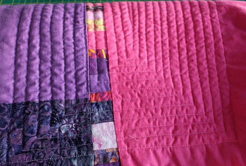 day 9 quilting