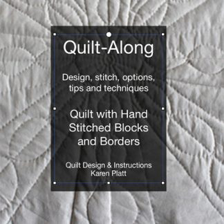 day 31 quilting
