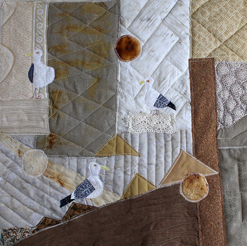 art quilts birds
