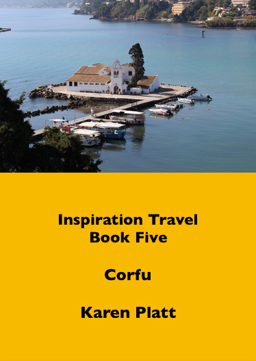 Inspiration travel ebook five Corfu