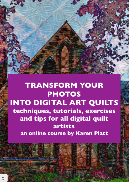 digital art quilts ecourse