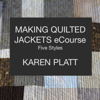 ecourse making quilted jackets